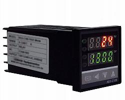 Controlador de temperatura industrial