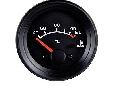 Indicador de temperatura digital automotivo