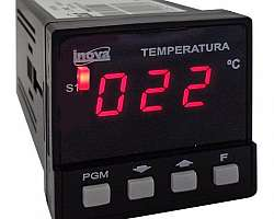 Indicador de temperatura do quarto