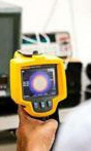 Calibração de termômetro infravermelho