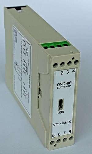 Comprar transmissor de temperatura trilho