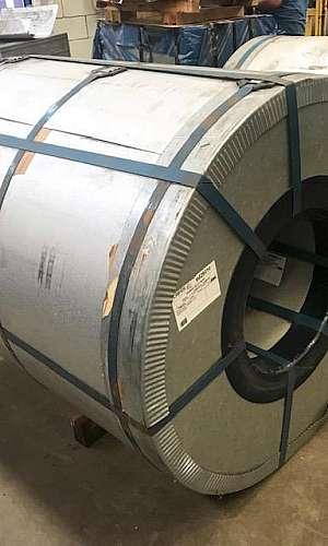 galvanização de laminados