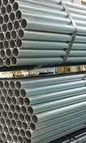 galvanização de tubos