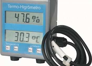Indicador de temperatura digital pt100