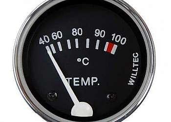 Indicador de temperatura automotivo universal