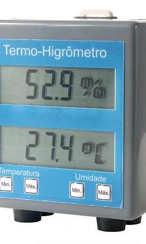 Instrumentos de medição de temperatura e umidade