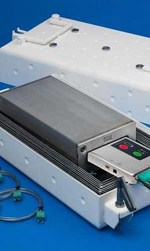 Medidor de temperatura a laser