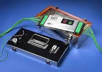 Medidor de temperatura industrial