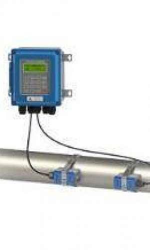 Medidor de vazão ultrassônico