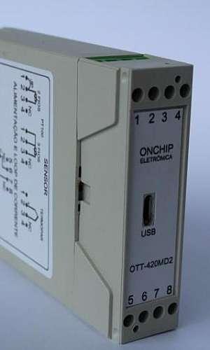 Preço transmissor de temperatura trilho din