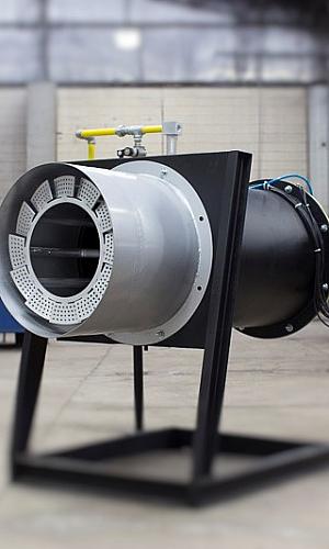 Queimador industrial alta temperatura