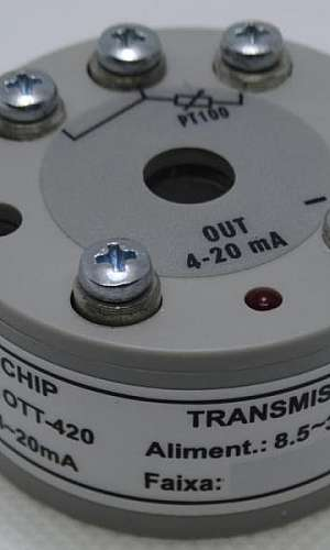 Transmissor de temperatura industrial