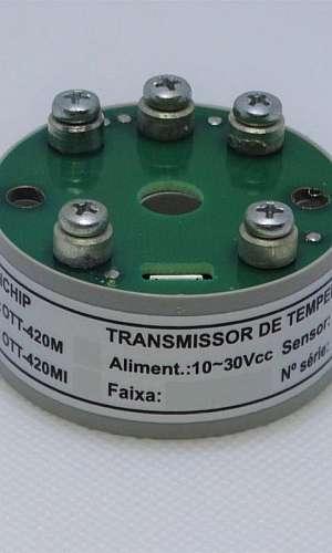 Transmissor de temperatura microprocessado