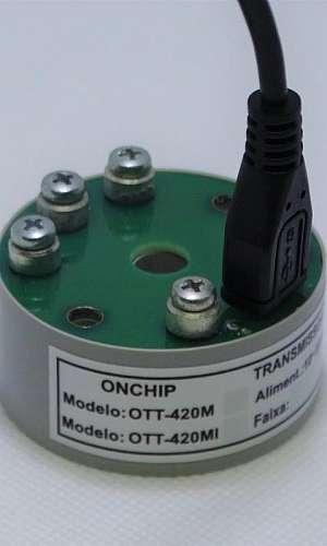 Transmissor de temperatura termopar