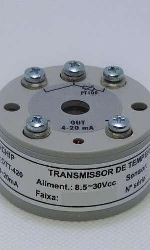 Transmissor eletrônico de temperatura