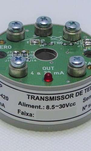 Transmissor temperatura PT100