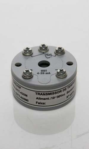 Transmissores de temperatura tipo j