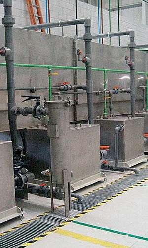 Túnel de fosfatização